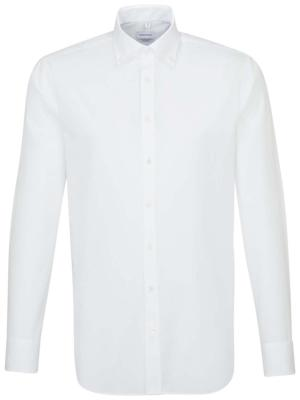 Seidensticker Hemd Shaped Fit BD Shirt white