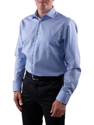 Seidensticker Kent Shirt middle blue