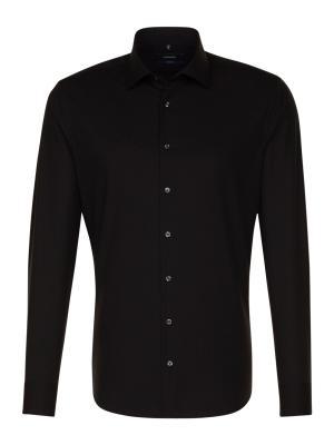 Seidensticker Hemd Tailored Fit Kent ELA bügelfrei black