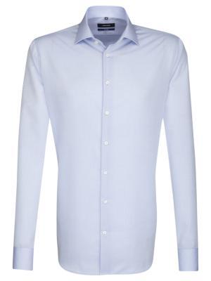 Seidensticker Hemd Tailored Fit Kent ELA bügelfrei l/blue