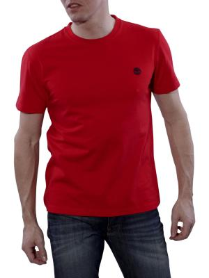Timberland Back Logo Tee formula one red