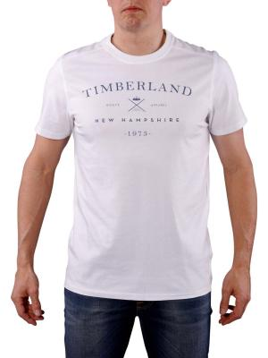 Timberland SS Kennebec T-Shirt white