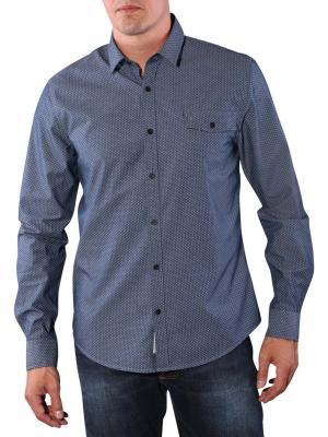 Calvin Klein Ecorn 1 Micro Print Shirt drizzle