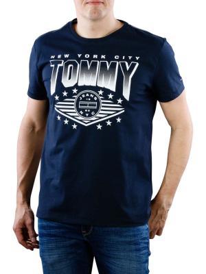 Tommy Jeans Crew Neck T-Shirt black iris