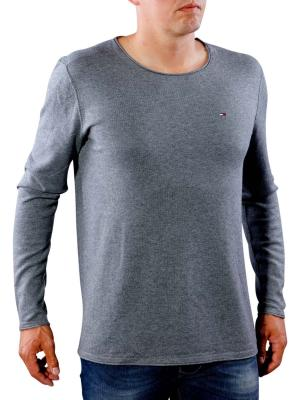 Tommy Jeans Basic CN Sweater deep grey heather