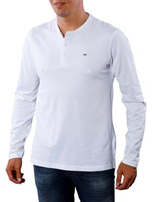 Tommy Jeans Basic Henley Knit classic white