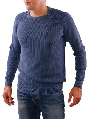 Tommy Jeans Basic CN Sweater blue wing teal