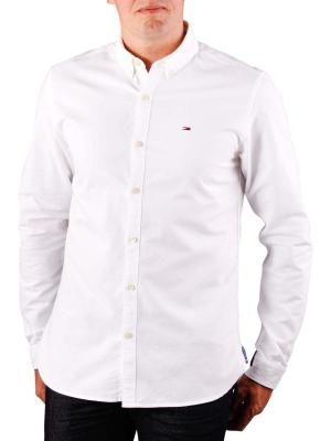 Tommy Jeans Basic Solid Shirt classic white