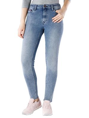 Tommy Jeans Santana Skinny dram mid blue stretch