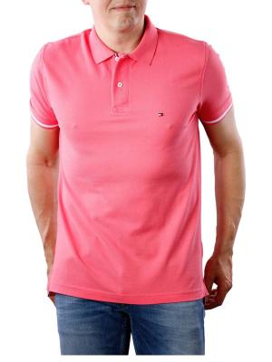 Tommy Hilfiger Basic Tipped Regular Polo pink lemonade