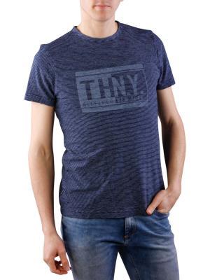 Tommy Hilfiger Lukas Crew Neck T-Shirt indigo/white
