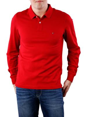 Tommy Hilfiger Luxury Slim Tipped Polo rio red