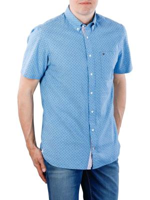 Tommy Hilfiger Micro Print Shirt blue/peacoat