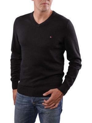 Tommy Hilfiger Pima Cotton Cashmere Sweater black