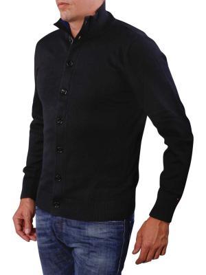 Tommy Hilfiger Pima Cotton Cashmere flag black