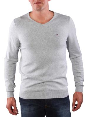 Tommy Jeans Timber Sweater light grey heather