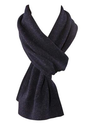 Tommy Hilfiger New Donegal Scarf navy blazer