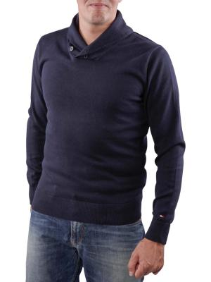 Tommy Hilfiger Pacific Shawl Sweater midnight