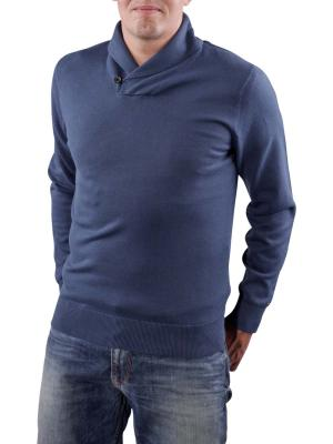 Tommy Hilfiger Pacific Shawl Sweater insignia blue
