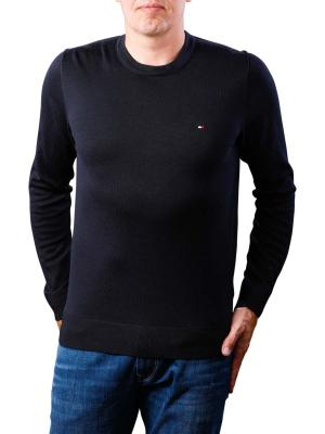 Tommy Hilfiger Core Cotton Silk CNeck sky captain