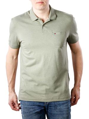 Tommy Jeans Essential Pocket Polo deep lichen