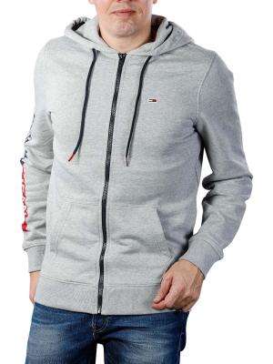 Tommy Jeans Essential Graphic Zipthru light grey heather