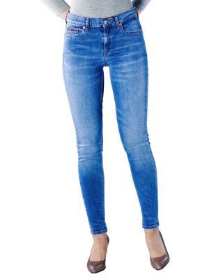 Tommy Jeans Nora Mid Skinny azel light blue stretch