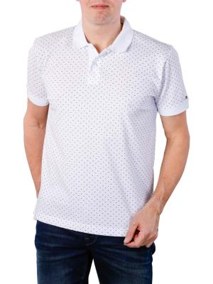 Tommy Hilfiger Micro Print Regular Polo bright white