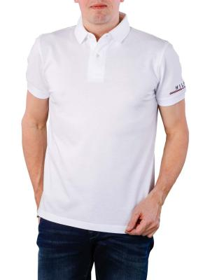 Tommy Hilfiger Logo Regular Polo bright white