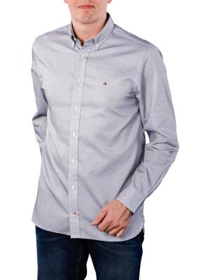 Tommy Hilfiger Two Tone End on End Shirt sky/white