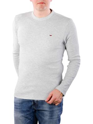 Tommy Jeans Heather Longsleeve T-Shirt light grey