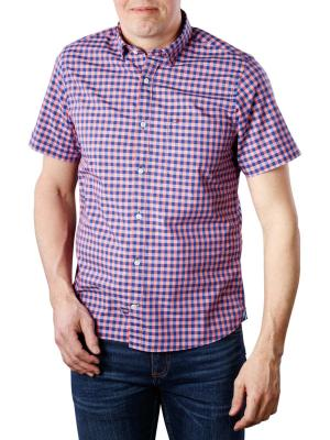 Tommy Hilfiger Slim Slub Gingham Shirt rose/blue