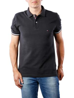 Tommy Hilfiger Basic Tipped Regular Polo jet black