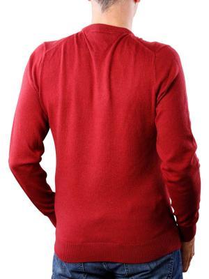 Tommy Hilfiger Pima Cotton Cashmere V rhubarb heather