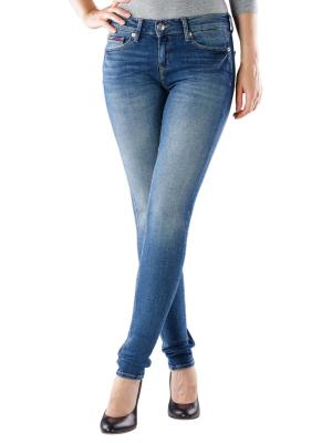 Tommy Jeans Nora Skinny royal blue stretch