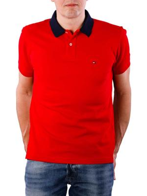 Tommy Hiliger 1985 Regular Polo haute red