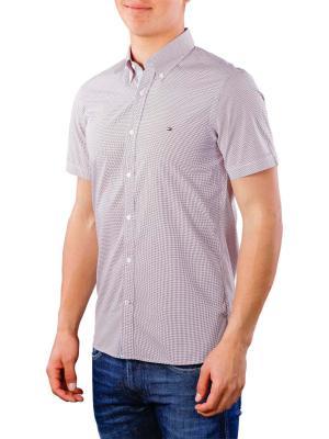 Tommy Hilfiger Slim Mini Print Shirt haute red/multi