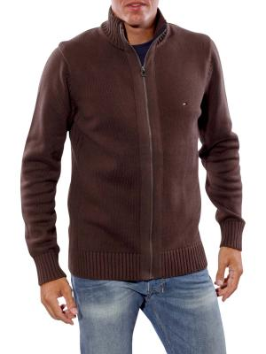 Tommy Simon Cardi Jacket seal brown