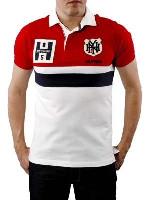 Tommy Vermont Polo apple red/classic white
