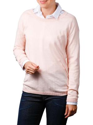 Yaya Basic Sweater pale blush