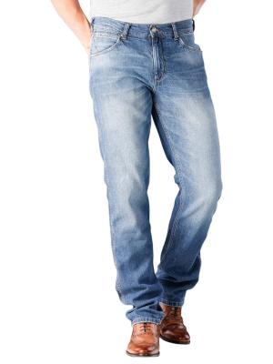 Wranlger Greensboro Stretch Jeans blue flax