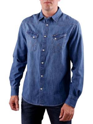 Wrangler Denim Shirt indigo
