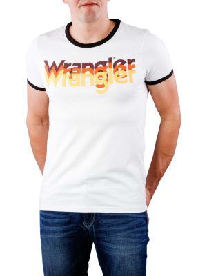 Wranlger Logo T-Shirt offwhite