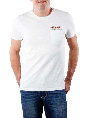 Wrangler Pocket T-Shirt offwhite