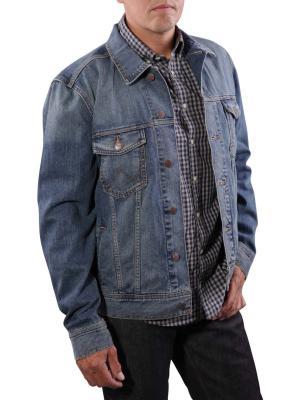 Wrangler Classic Denim Jacket mid stone