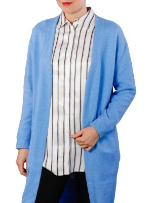 Yaya Basic Cardigan ice blue melange