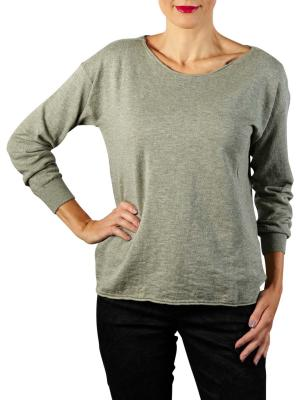Yaya Cotton Cashmere Blend Sweater dusty sage melange