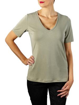 Yaya Modanl V-Neck T-Shirt dusty sage
