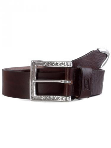Hugh dark brown by BASIC BELTS