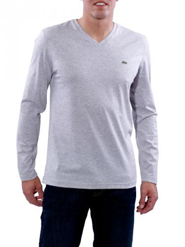 Lacoste T-Shirt grey chiné